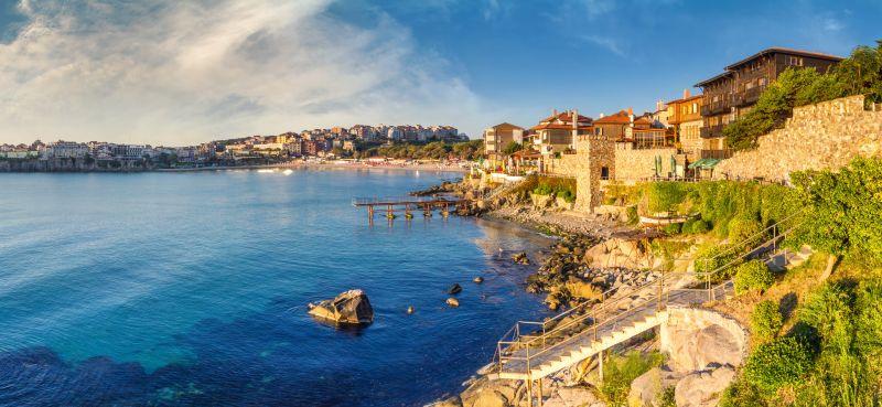 Pobřeží Černého moře na podzim. Letenky do Burgasu od 847 Kč s odletem z Bratislavy