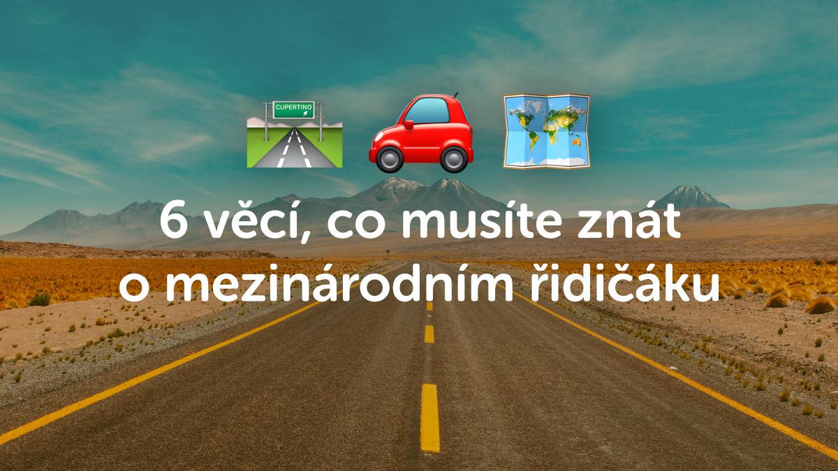 6 věcí, co byste měli vědět o mezinárodním řidičském průkazu