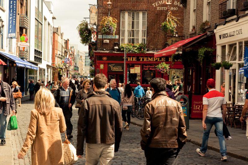 Do Dublinu na prodloužený víkend! Letenky od 1302 Kč s odletem z Prahy, Vídně a Bratislavy