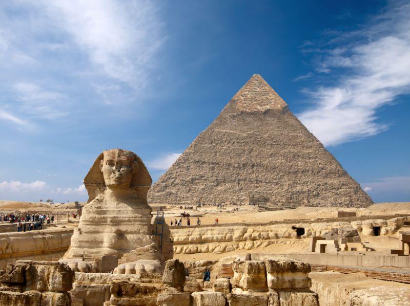 Za pyramidami do Egypta. Letenky za 4690 Kč s odletem z Prahy
