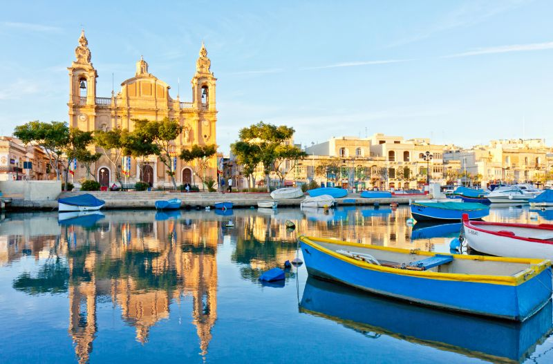 Na Maltu za hubičku. Letenky na prosinec a leden od 587 s odletem z Bratislavy