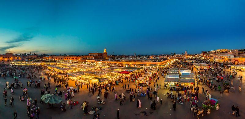 Exotické Maroko koncem roku. Letenky od 921 Kč s odletem z Prahy