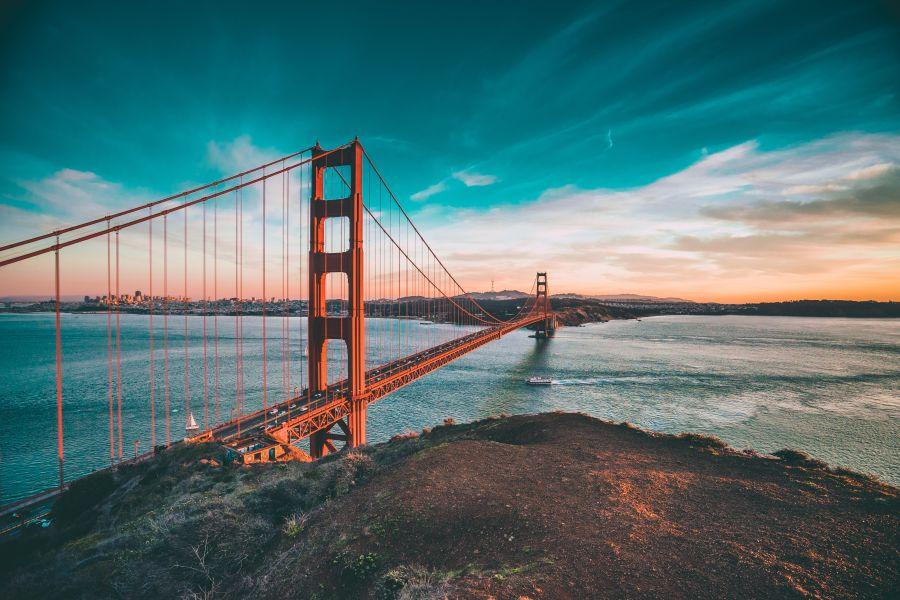 S jedním rychlým přestupem do San Francisca. Letenky za 11490 Kč s odletem z Prahy