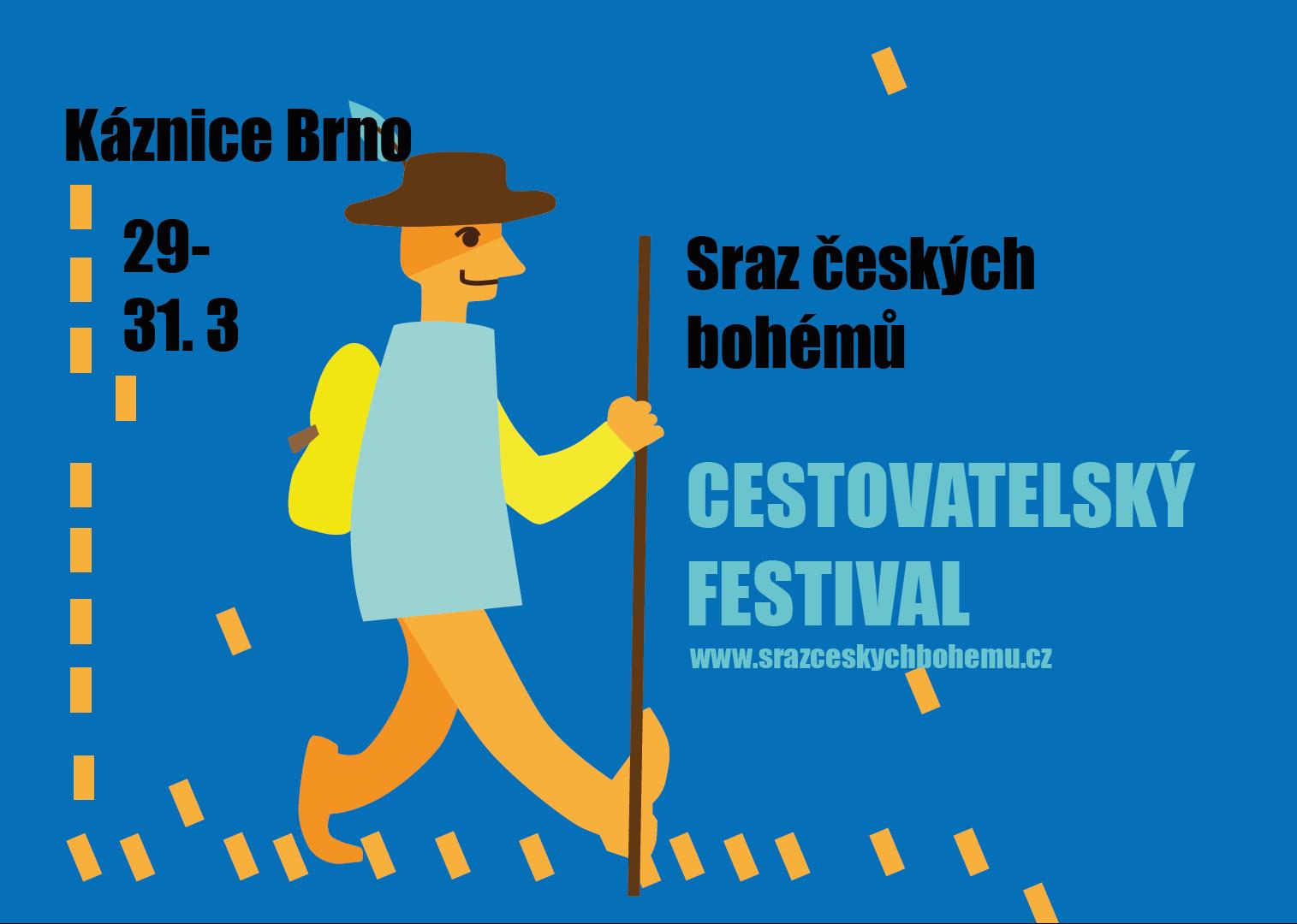 Sraz českých bohémů – cestovatelský festival v Brně