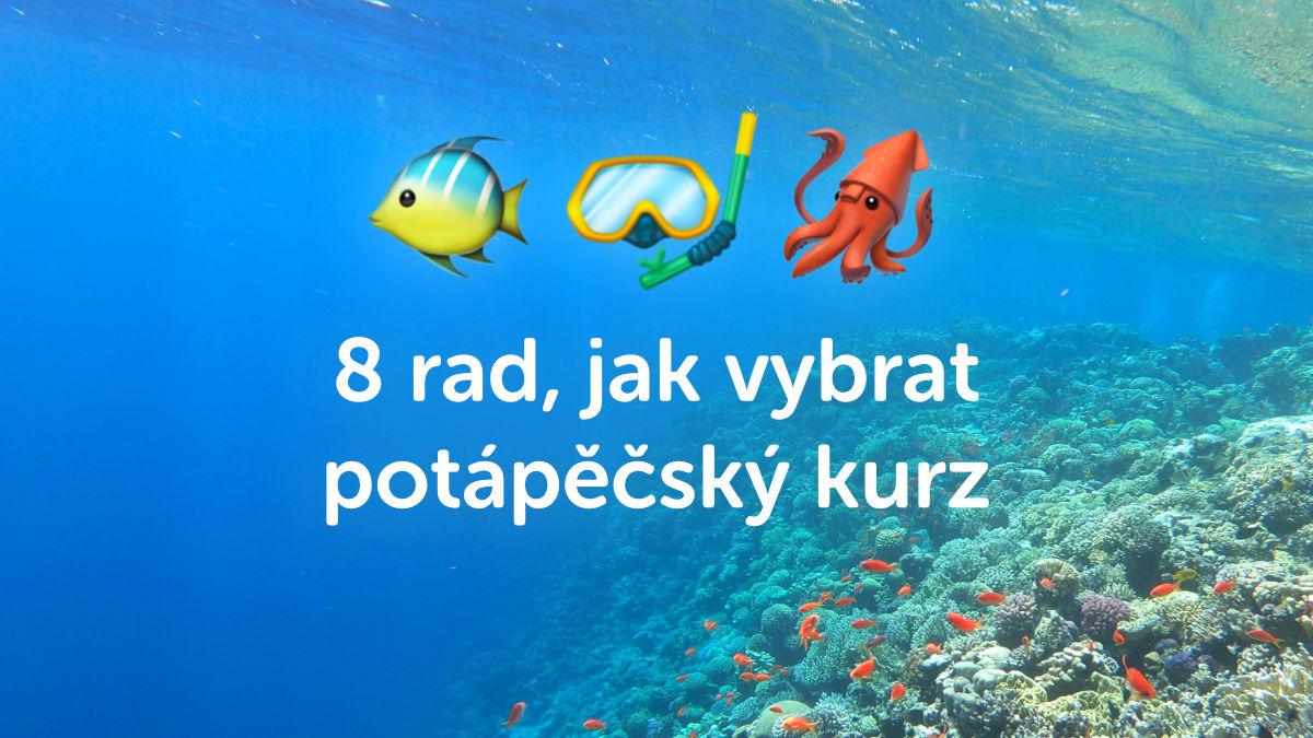 8 praktických rad pro výběr potápěčského kurzu