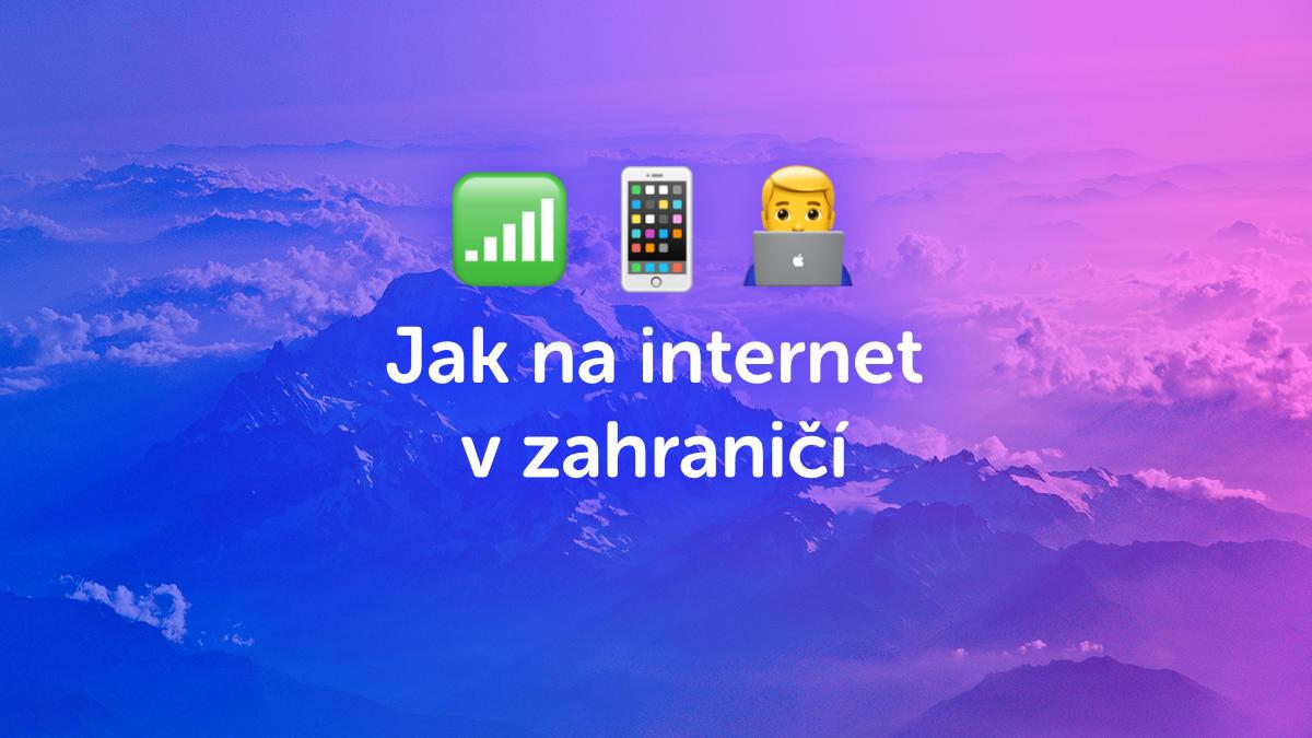 Velký přehled, jak na internet v zahraničí. Je lepší datový roaming nebo lokální sim karta?
