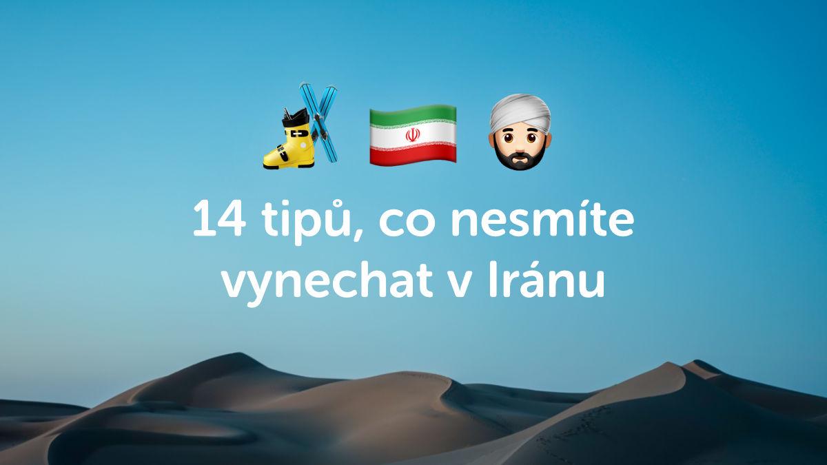 14 tipů, co byste v Íránu neměli vynechat podle cestovatele Vladimíra Váchala