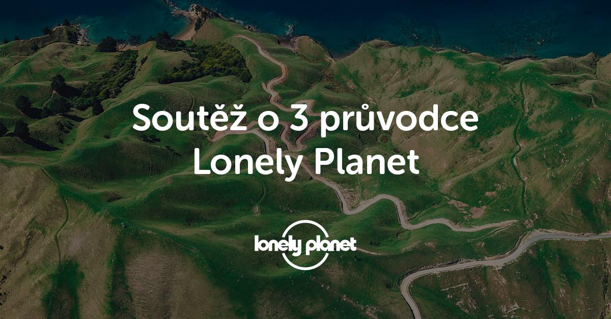 Vyhrajte jeden ze tří průvodců Lonely Planet