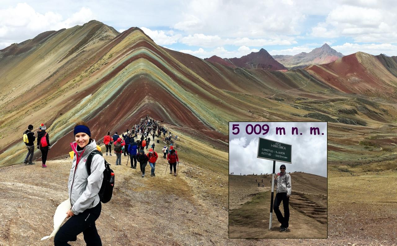 Duhové hory v Peru, málokdo o téhle kráse ví!