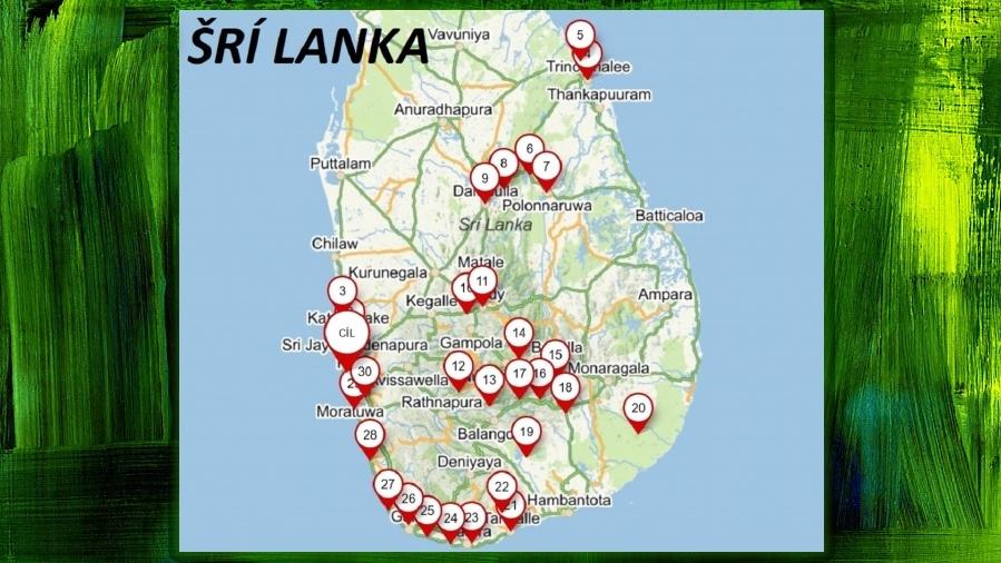 Srí Lanka - načerpejte inspiraci pro vaší cestu ..