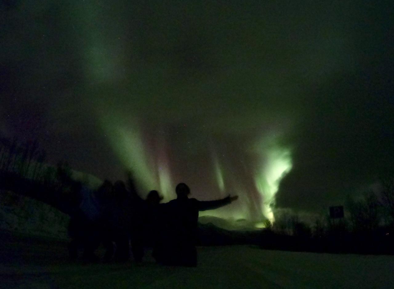 Návod jak a kde vidět polární záři pouhým okem!