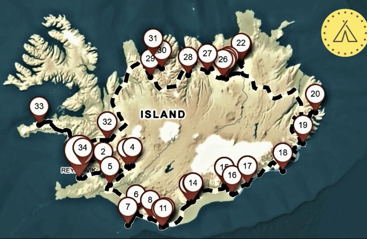 Jak jsme procestovali celý Island / low cost!