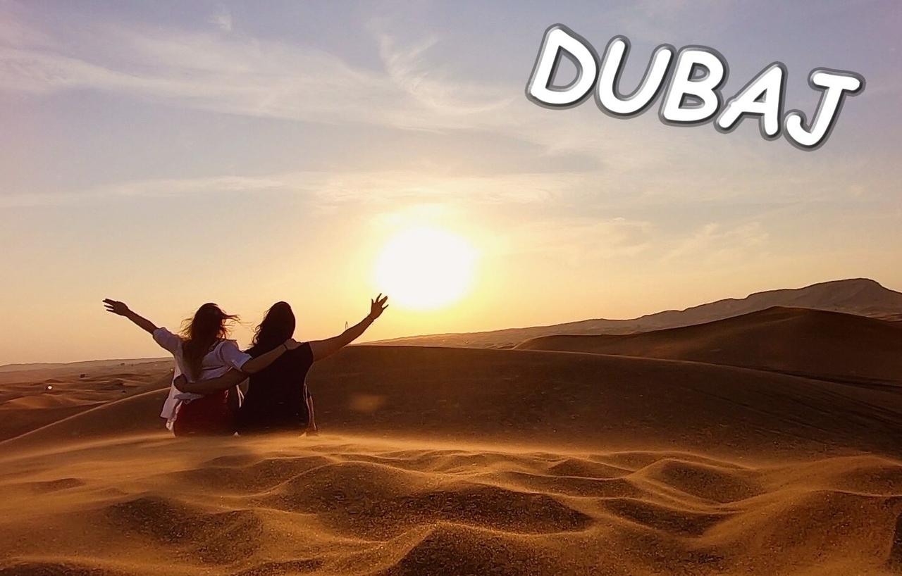 Dubaj - velkoměsto mrakodrapů aneb jak nám v safari upadla pneumatika z rafku.