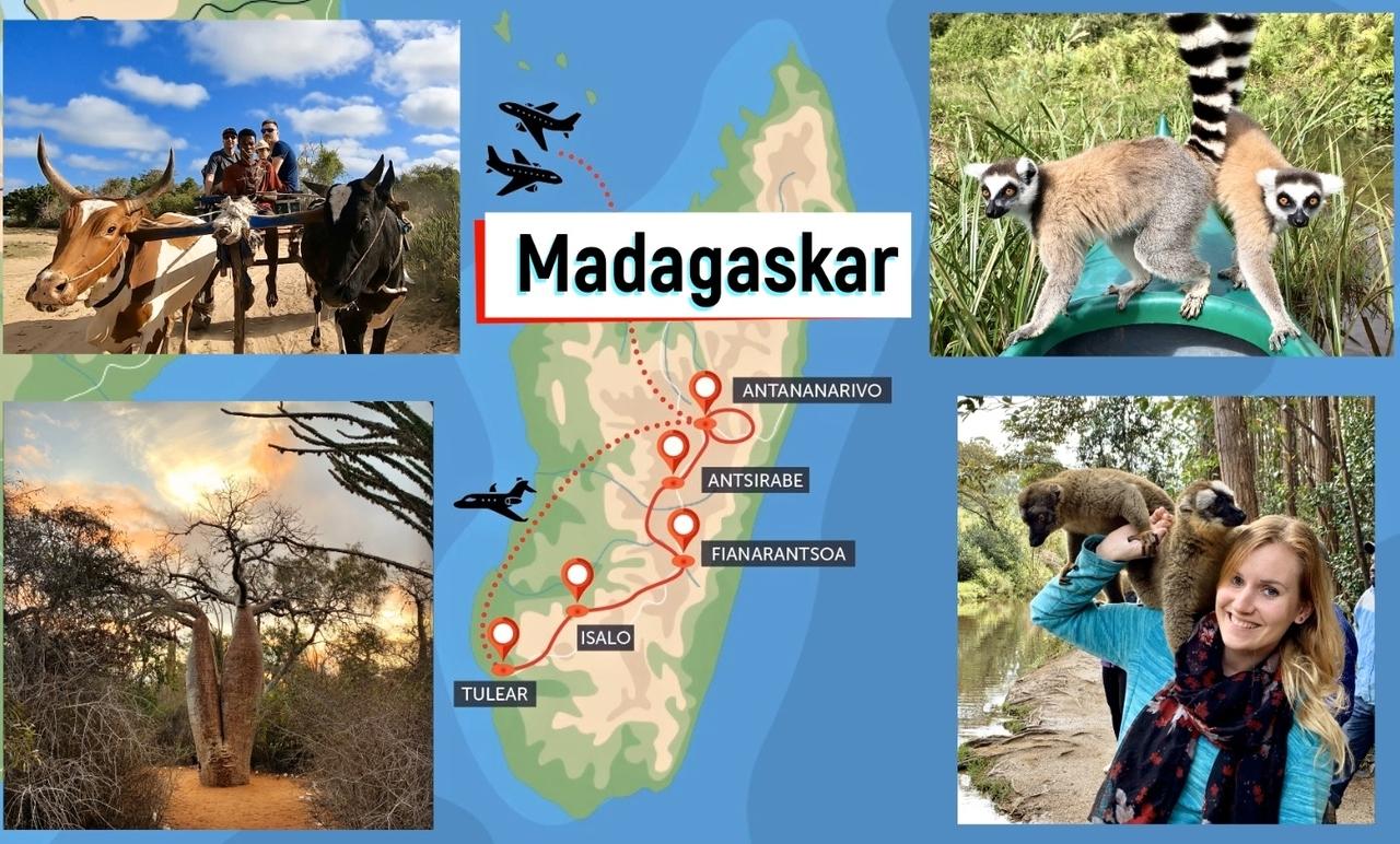 Madagaskar - velký okruh