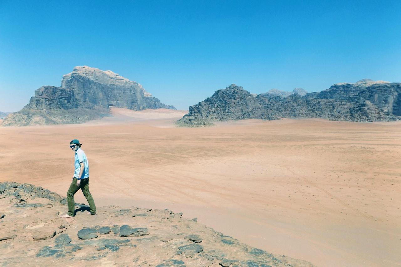 Jordánsko – země nádherných výhledů