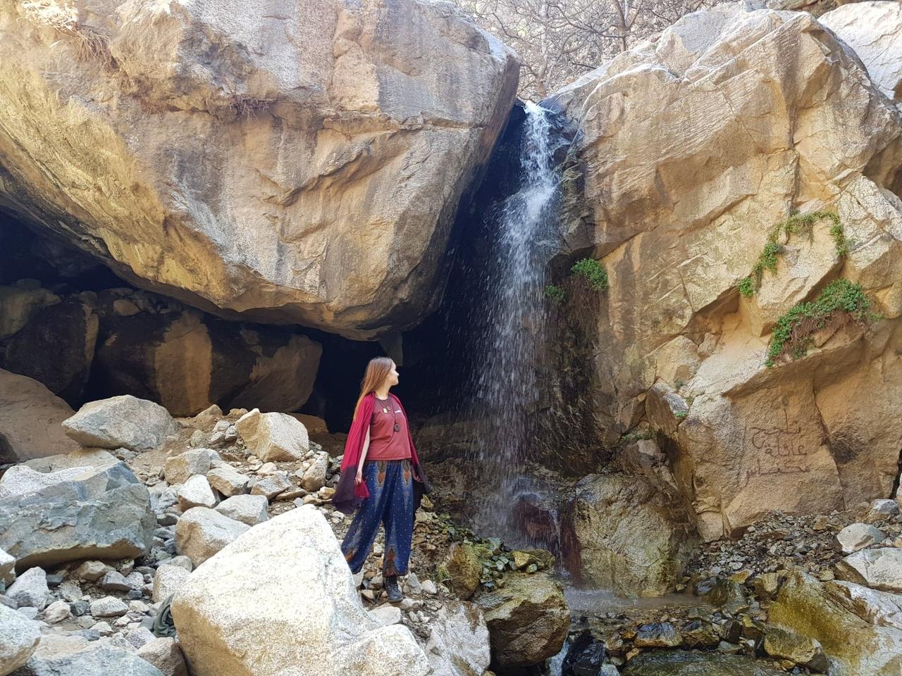 Turistom skryté krásy - Ourika waterfalls