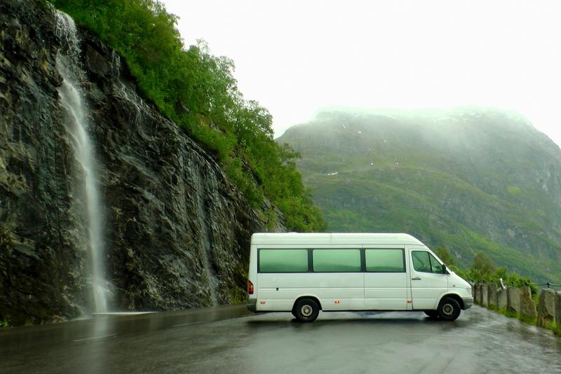 Norsko Mikrobusem