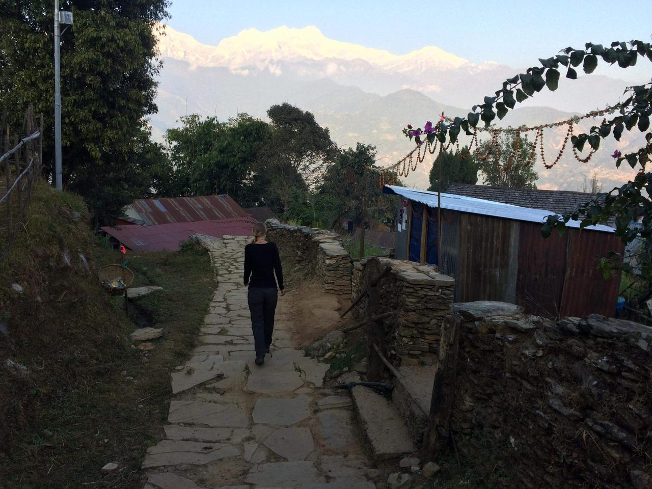 Šest týdnů s výhledem na Himaláje