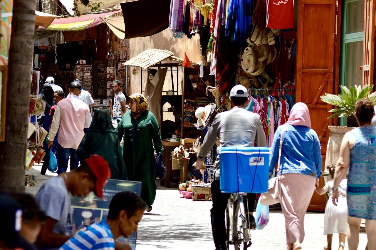 Maroko - Má první africká země