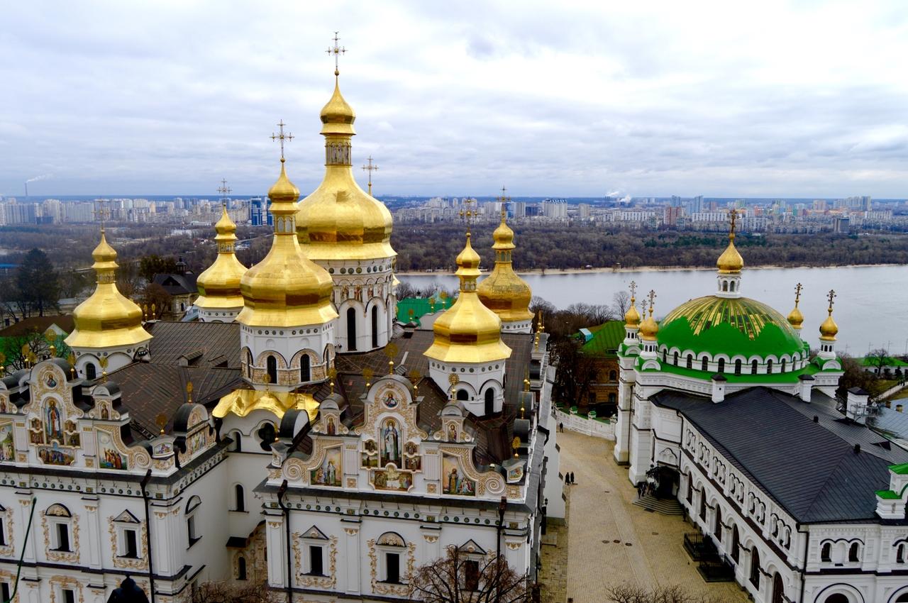 KYJEV - Západně rozvíjející město s pozůstatky socialismu.