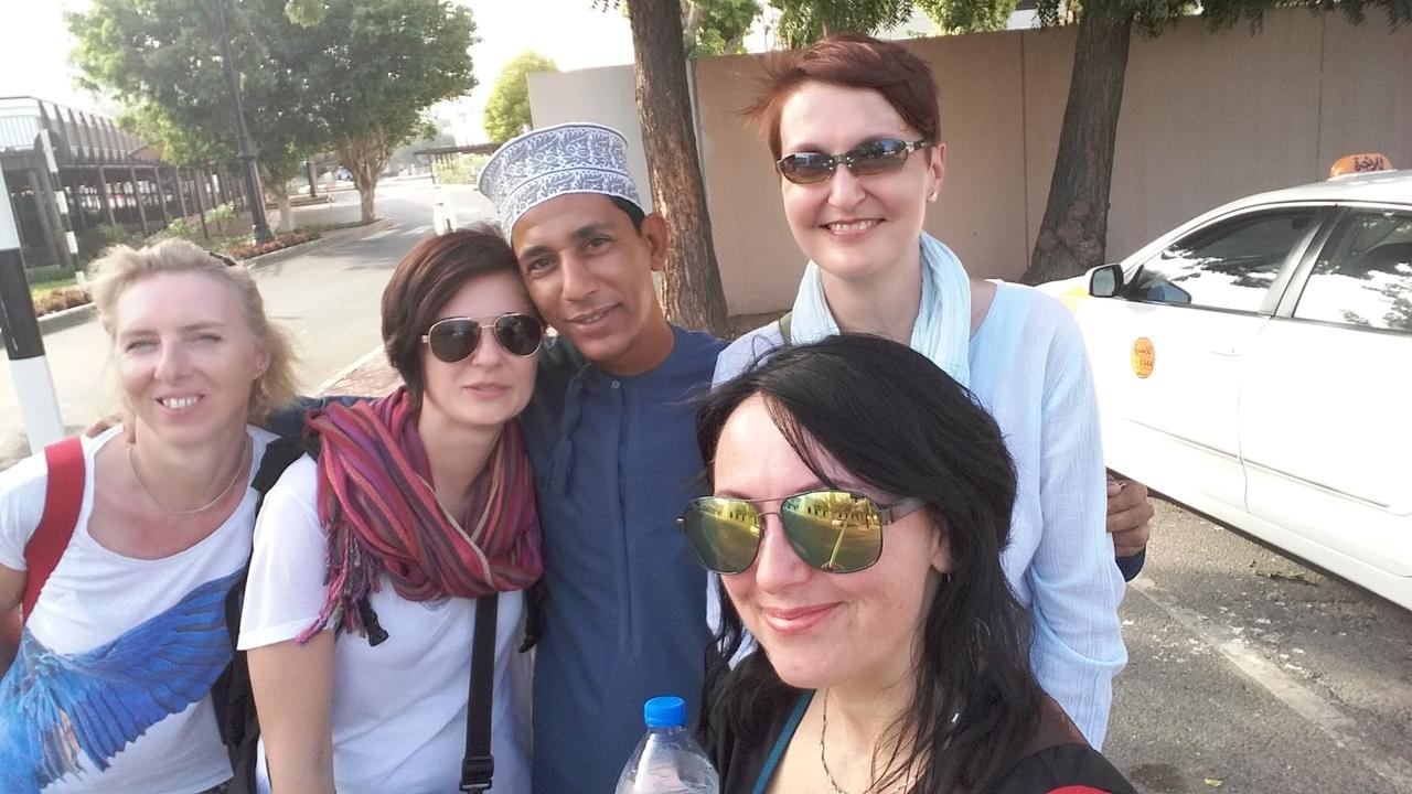 4 ženy v Ománu na vlastní pěst