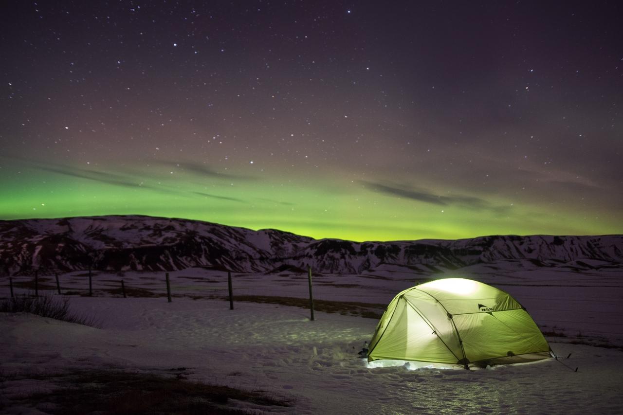 Island v zimě na vlastní pěst