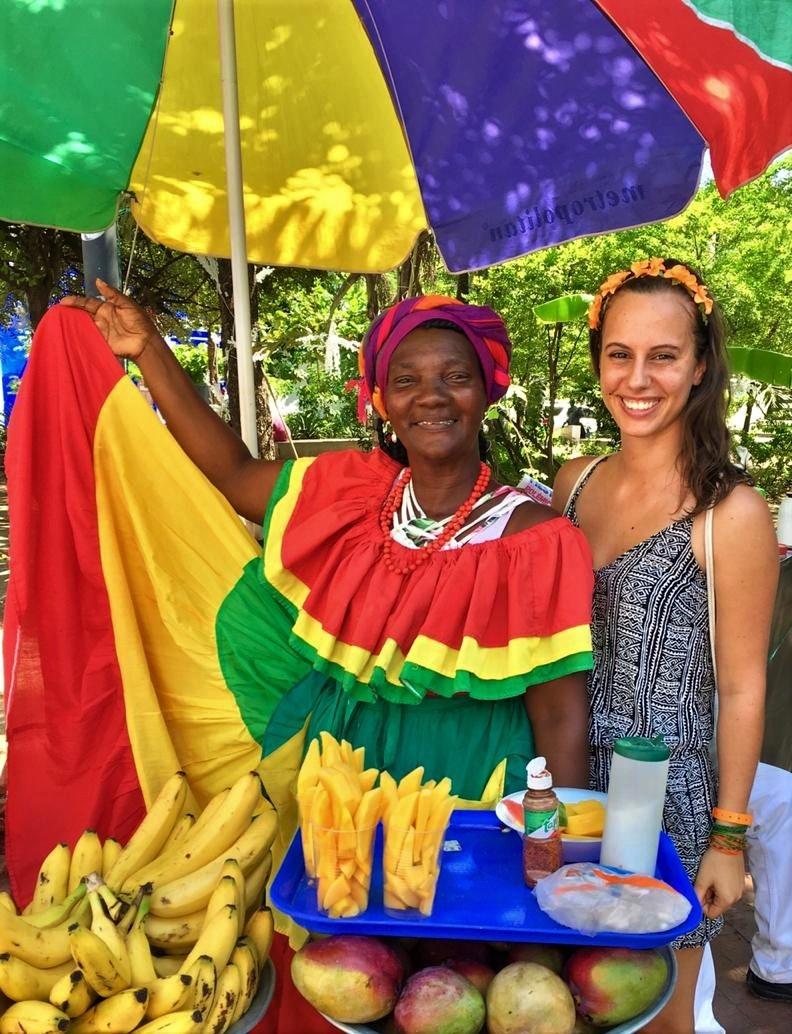 Pestrobarevná a živá Kolumbie