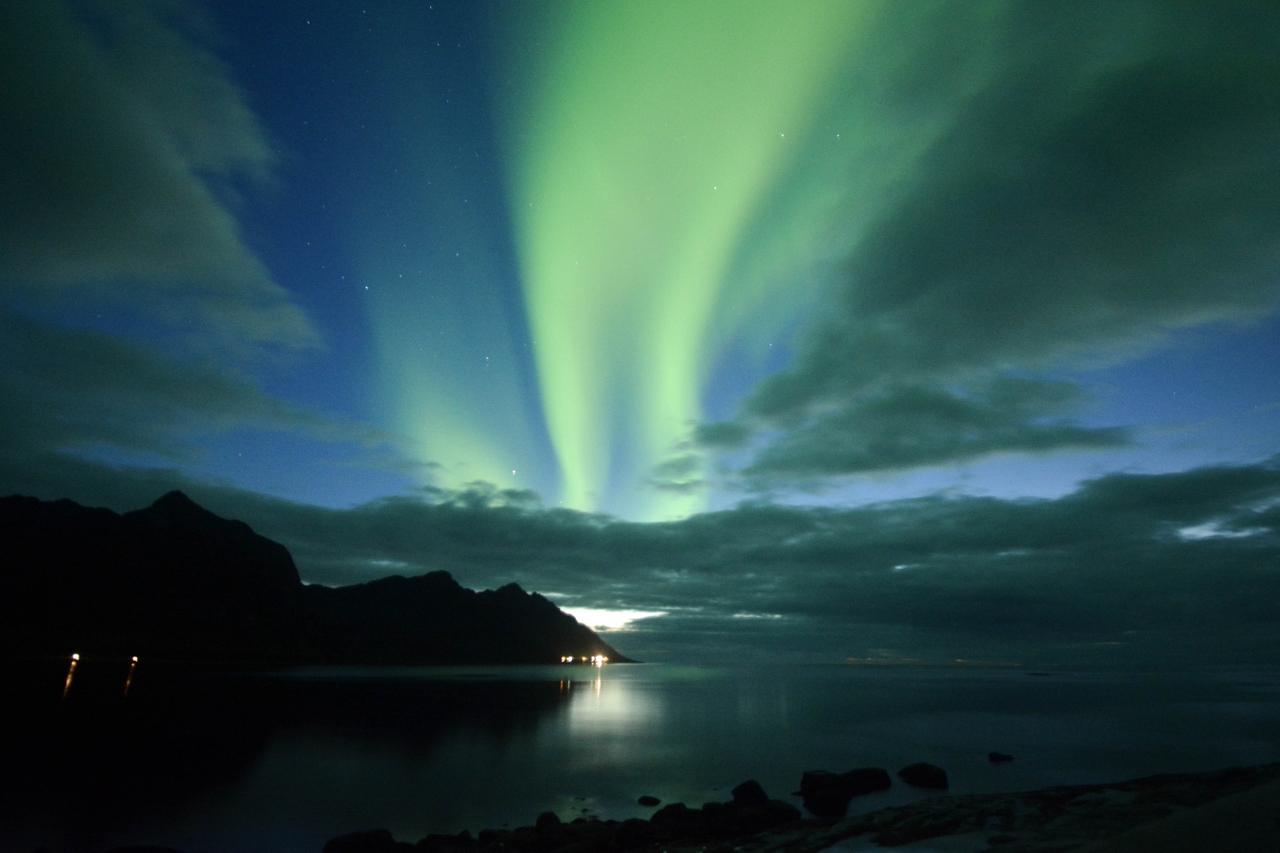 Autem za polární září - Skandinávie