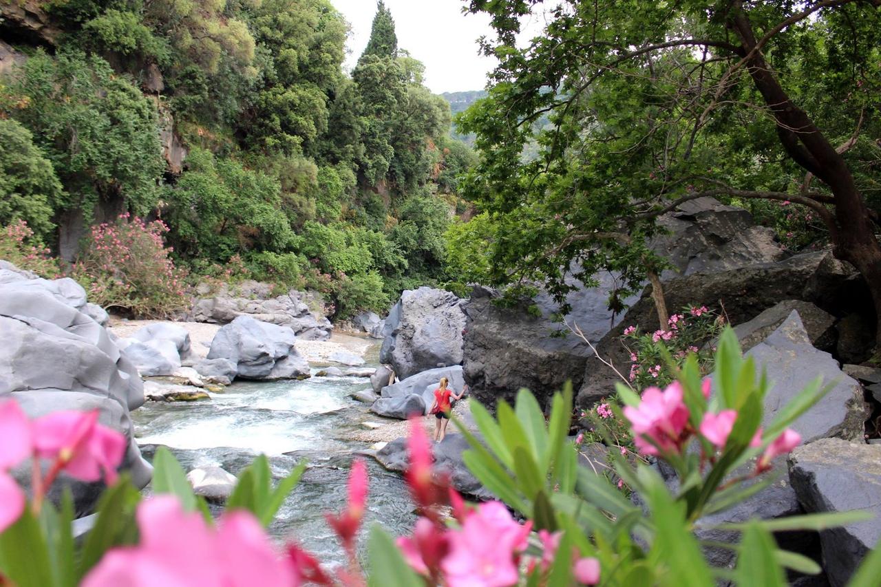 Cesta kolem Sicílie za 14 dní: 3) Taormina a Gole Alcantara