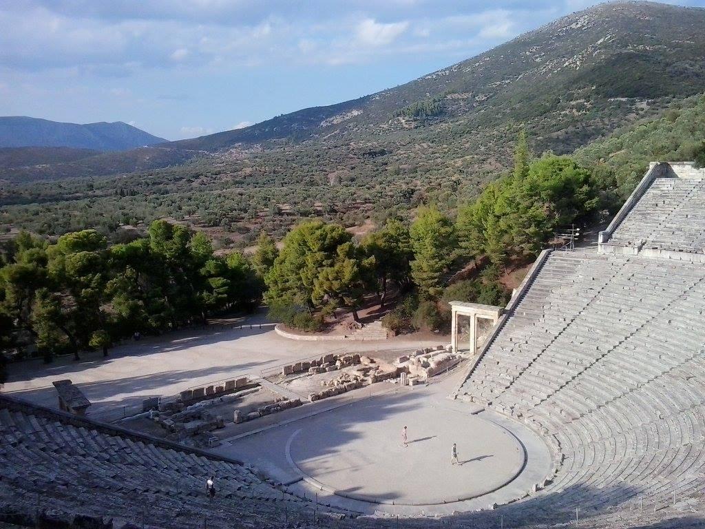 Řecký stopařský deník: 5) Epidauros